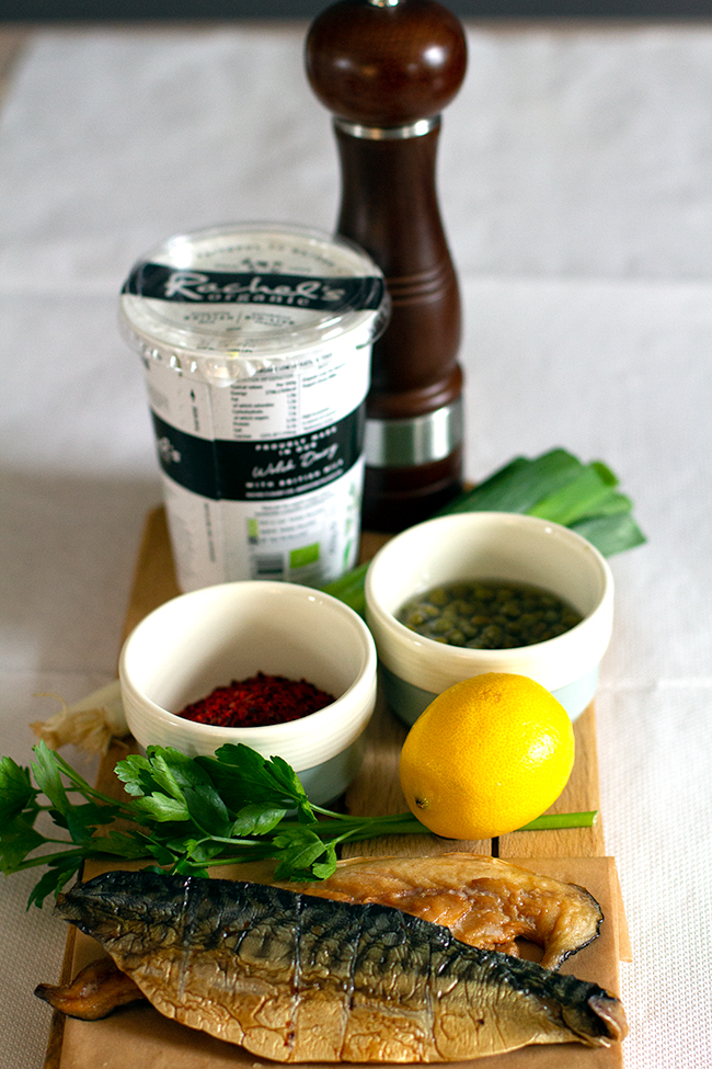 Smoked Mackerel Rillettes with Aleppo Pepper Recipe ingredients
