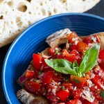 Tomato Bruschetta with Chilli