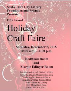 craft faire flyer