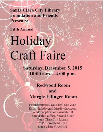 craft faire flyer