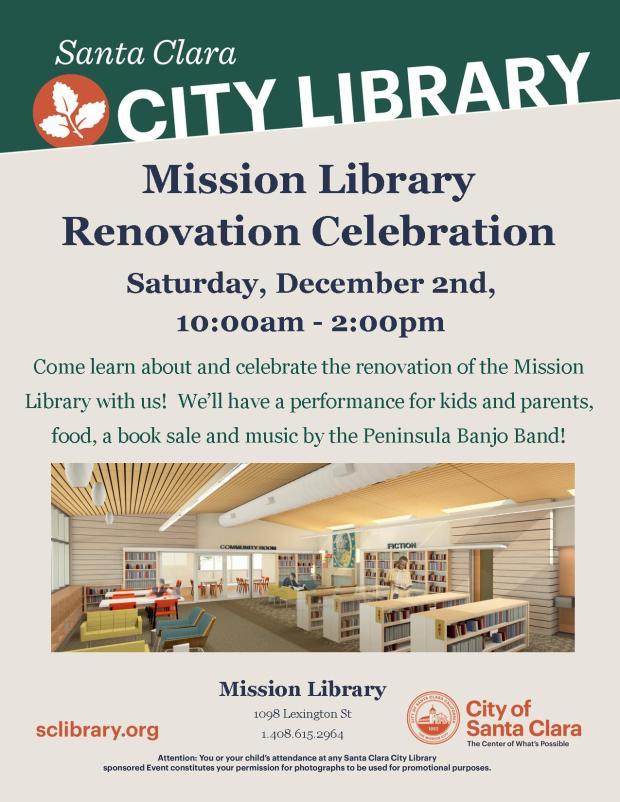 Renovation Celebration Flyer