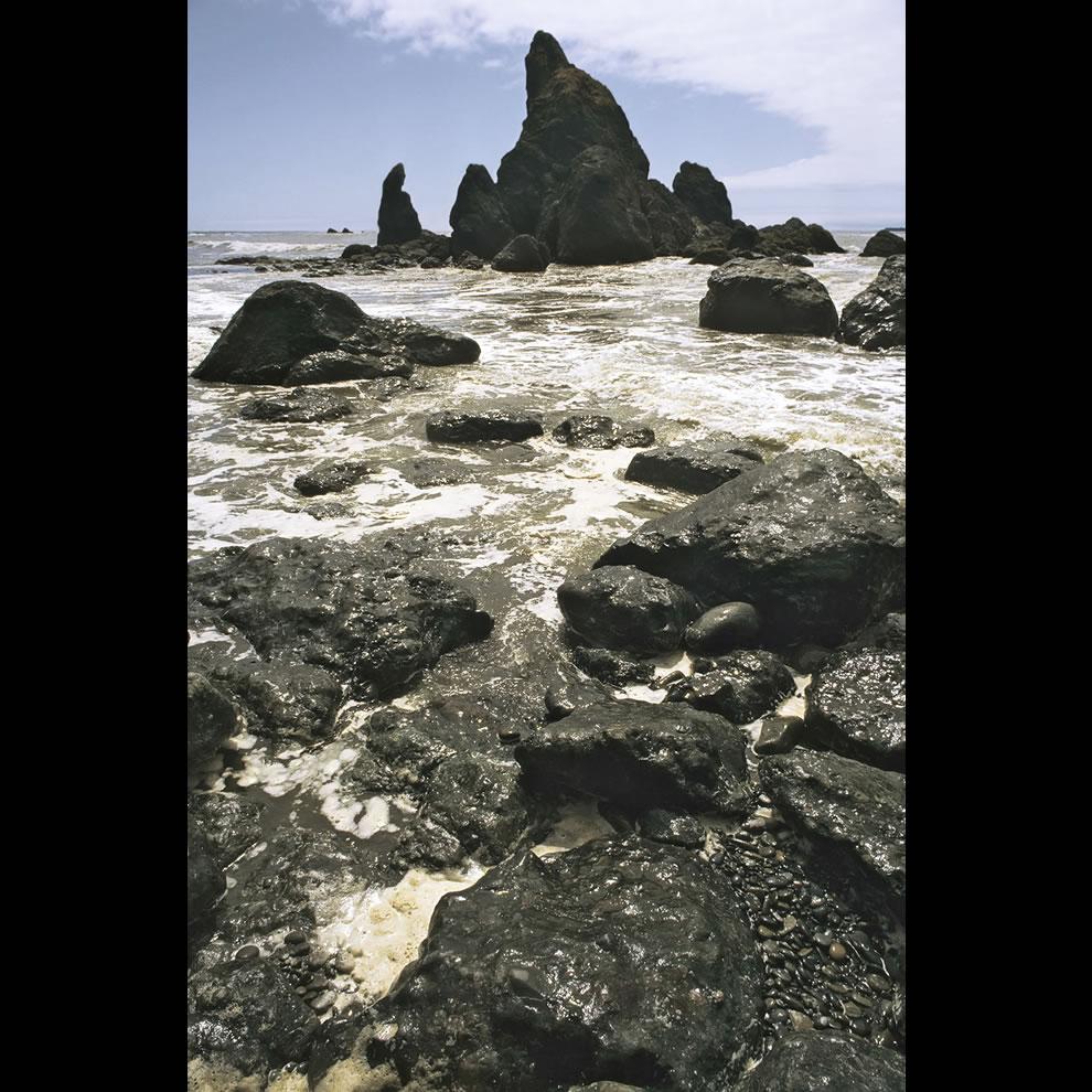 Ruby Beach in dem Olympic National Park, Bundesstaat Washington, USA