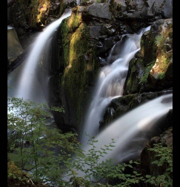 Sol Duc Falls - looks like the Garden of Eden
