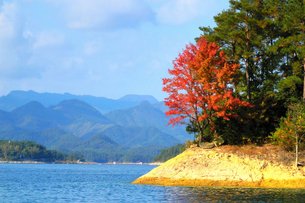 Autumn at Qiandao Lake