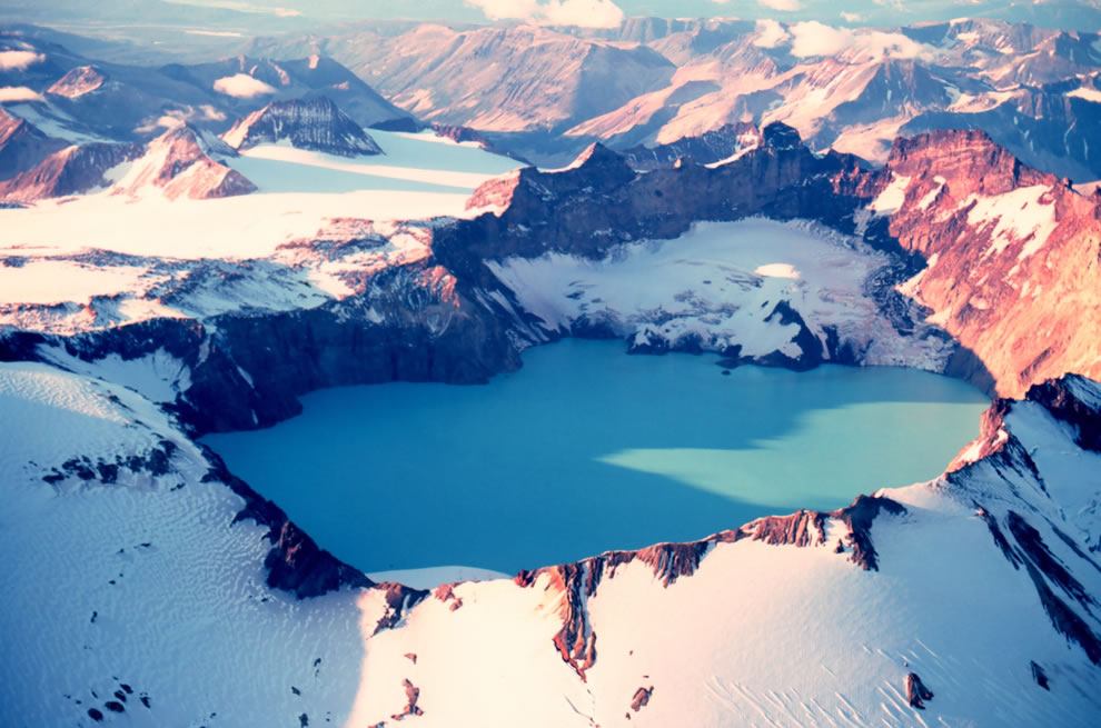Katmai Crater - Mount Katmai, Alaska