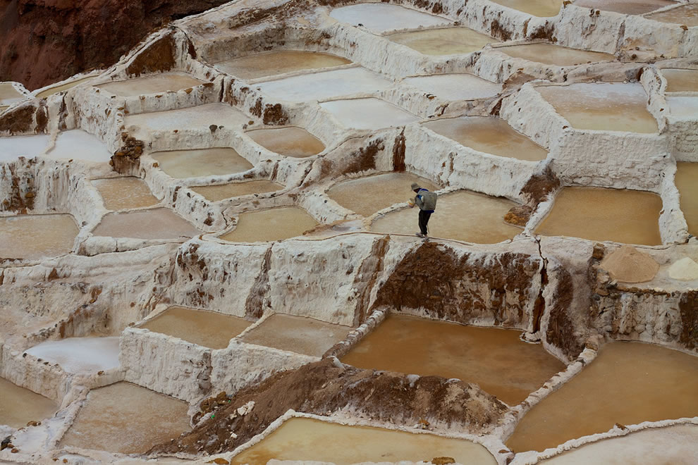 Sacred Valley, Salineras salt pans