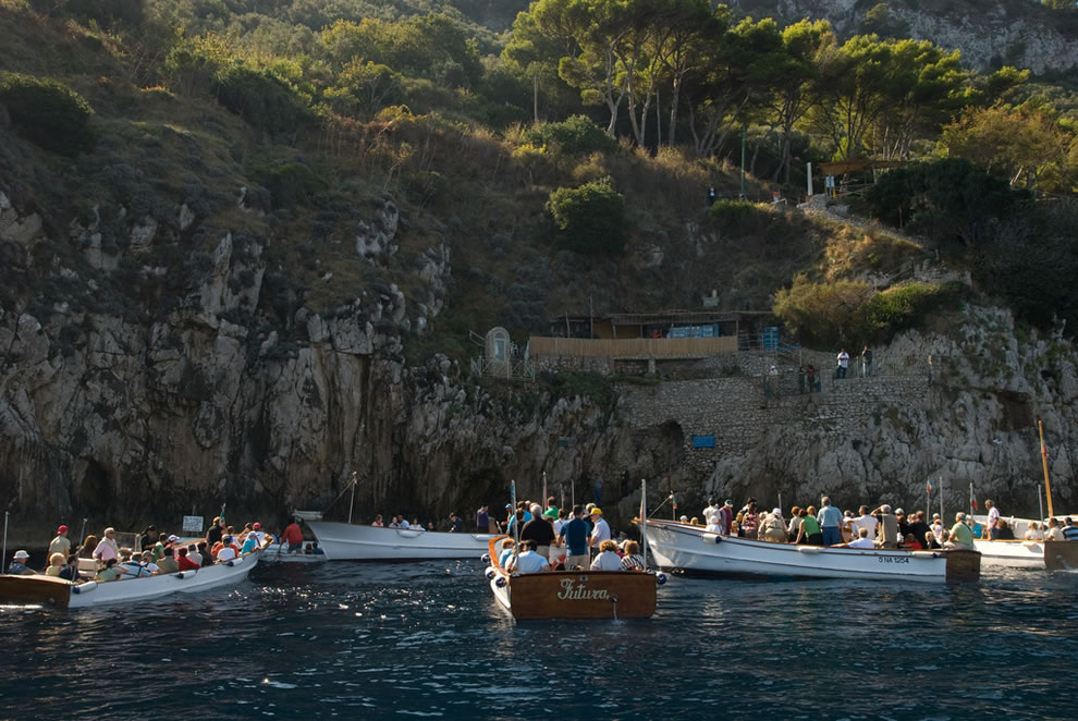 Entrance to Blue Grotto