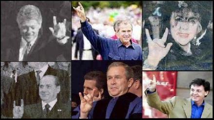 illuminati hand symbols and meanings