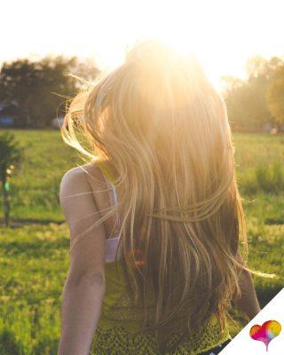 Haare vor Sonne schützen