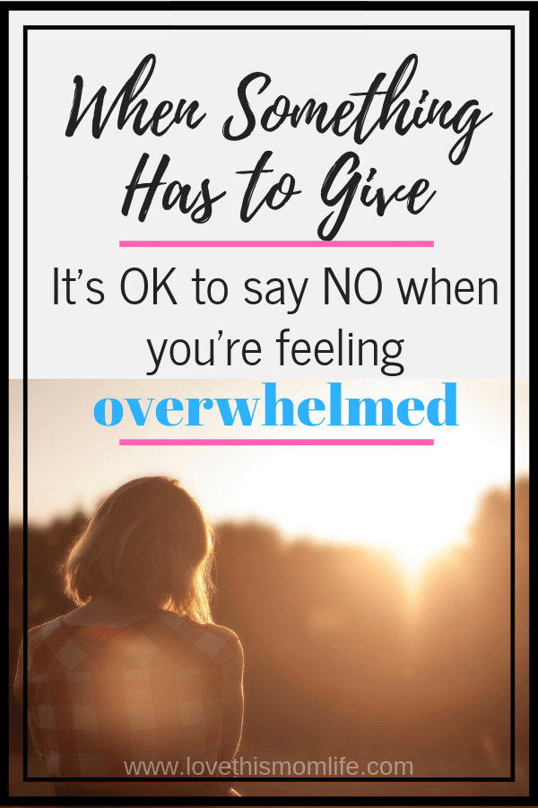 It's OK to say NO sometimes