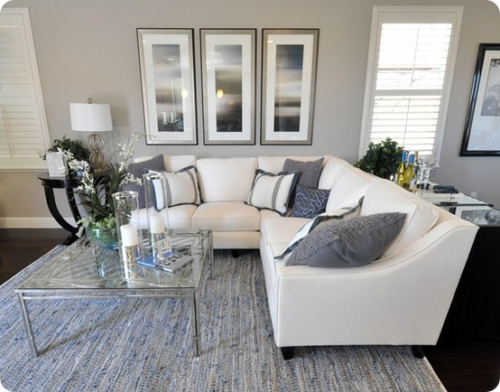 Gray And White Living Room Modern House Part 92