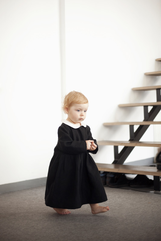 Baby Girl In Old Fashion Black Dress With White Collar Pictures Photos And Images For Facebook