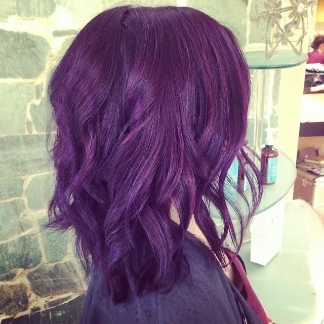 Short Purple Haircut Pictures Photos And Images For