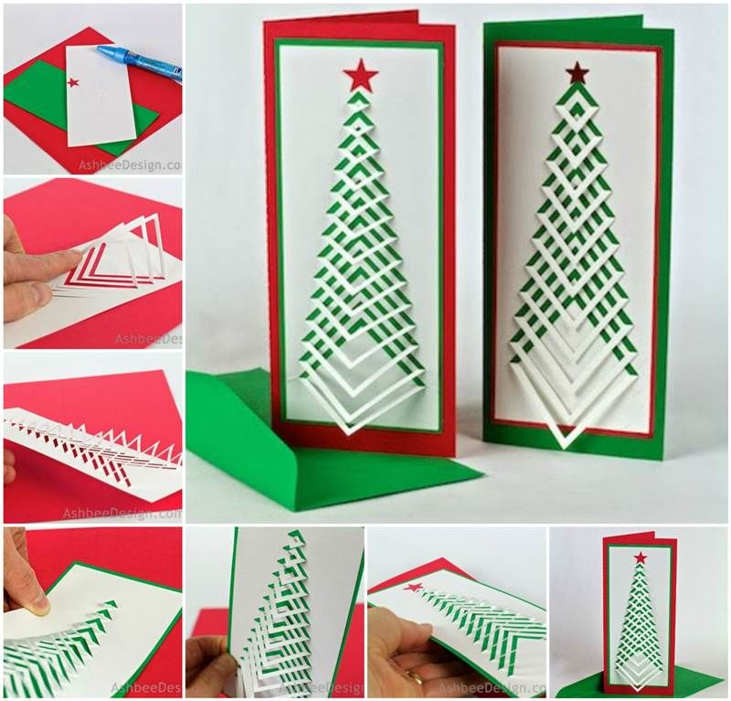 How To Make Chevron Christmas Cards Pictures Photos And
