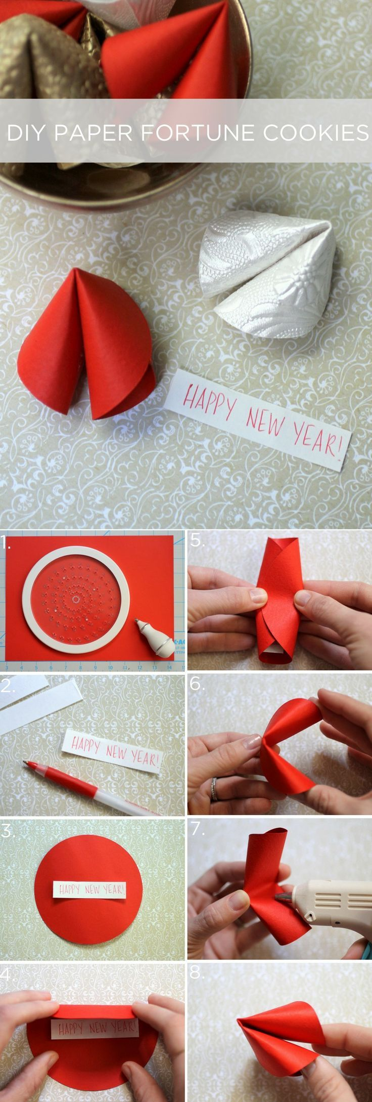 DIY Paper Fortune Cookies Pictures Photos And Images For