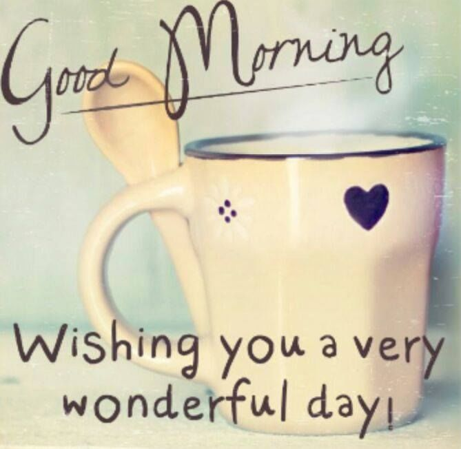 Good Morning Have A Wonderful Day Pictures Photos And Images For