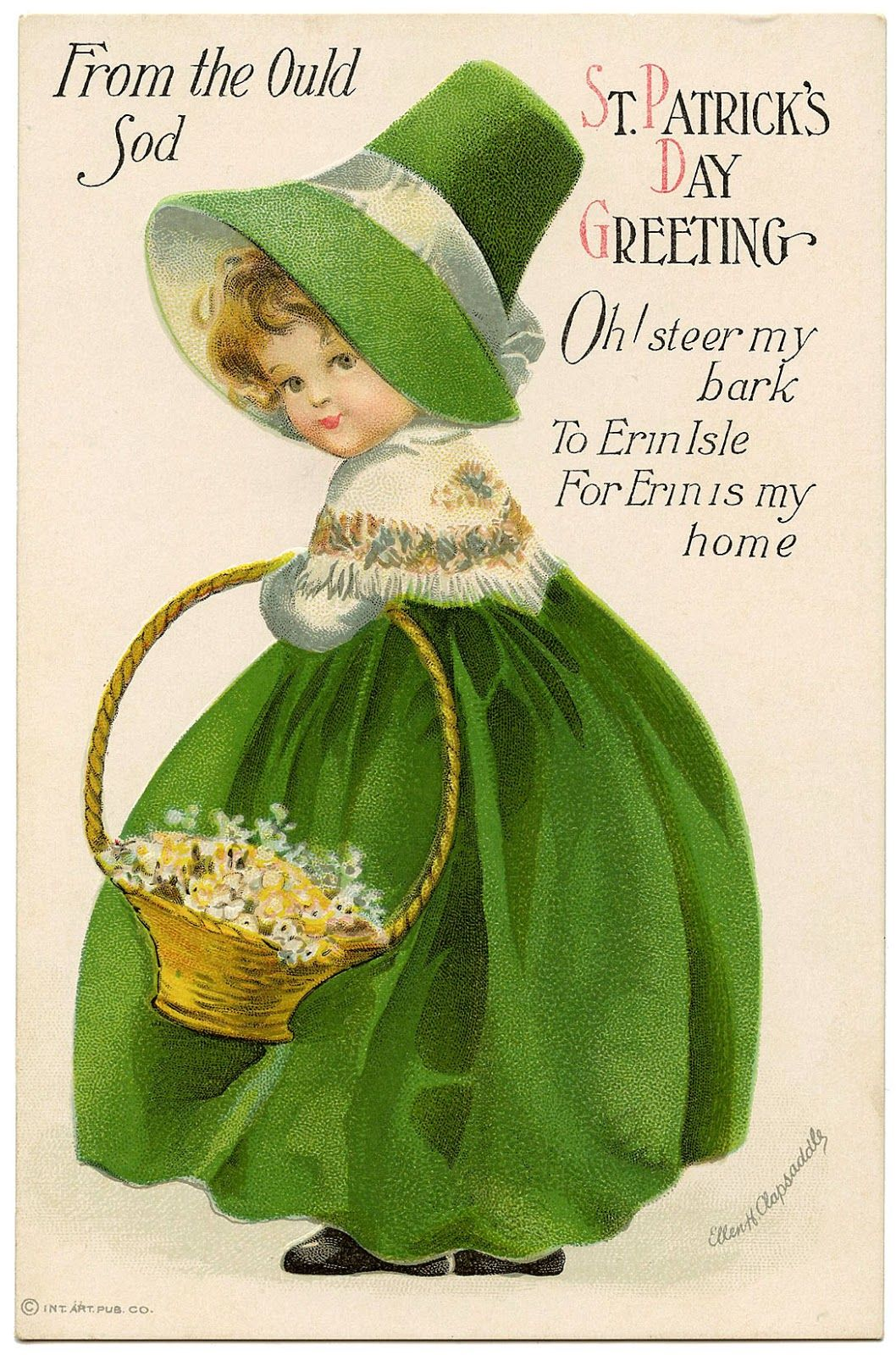 Vintage St Patrick S Day Greetings Pictures Photos And