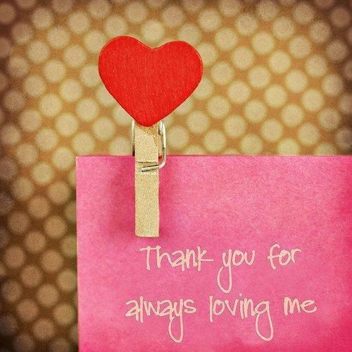 Image result for thank you for loving me