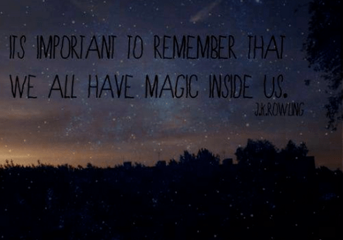 Image result for magic is in us tumblr