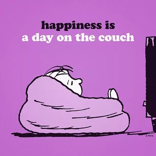 Happiness Is A Day On The Couch Pictures Photos And