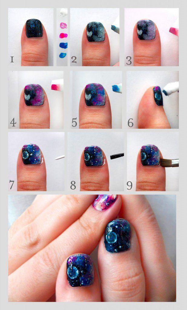Ombre Diy Nail Design