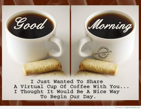 Good Morning Coffee Quotes With Pictures