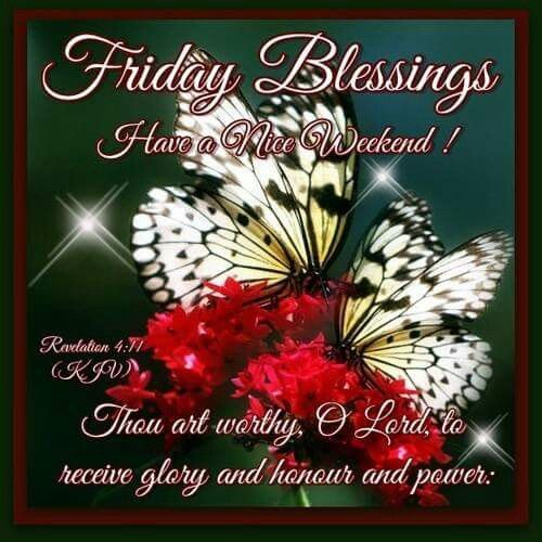 Winter Thursday Blessings