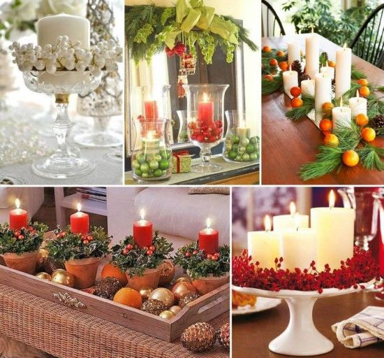 Christmas Table Centerpiece Ideas Pictures Photos And