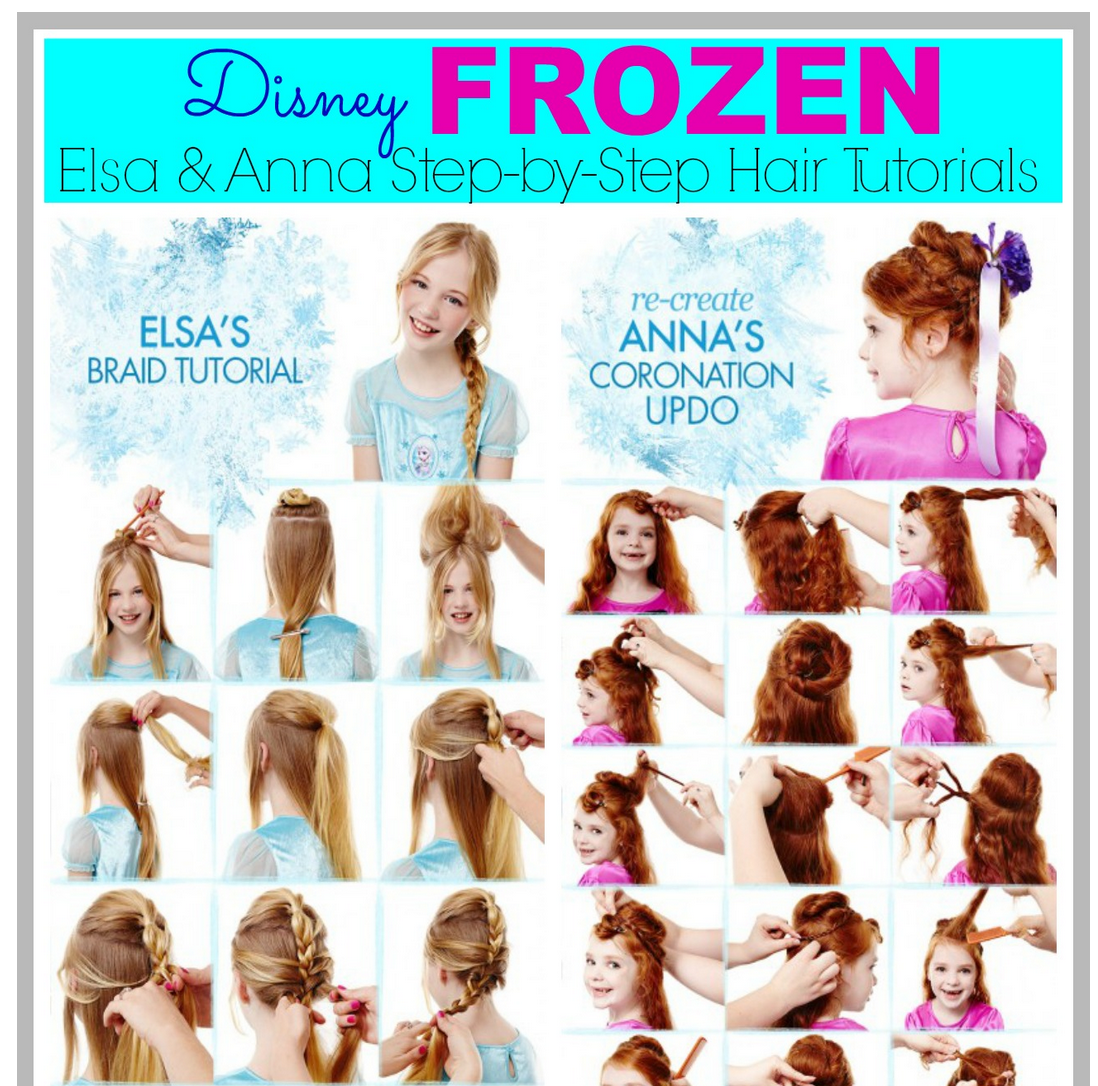 Elsa And Anna From Frozen Hair Tutorial Pictures Photos And Images For Facebook Tumblr