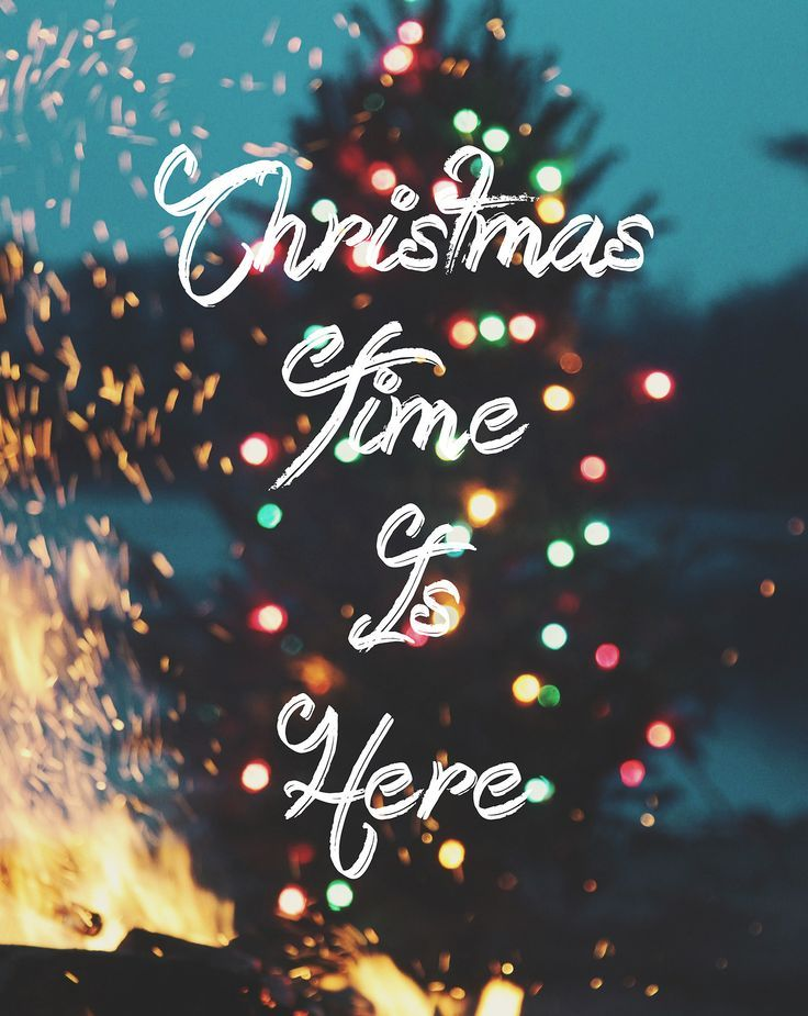 Christmas Time Is Here Pictures, Photos, and Images for ... (736 x 925 Pixel)