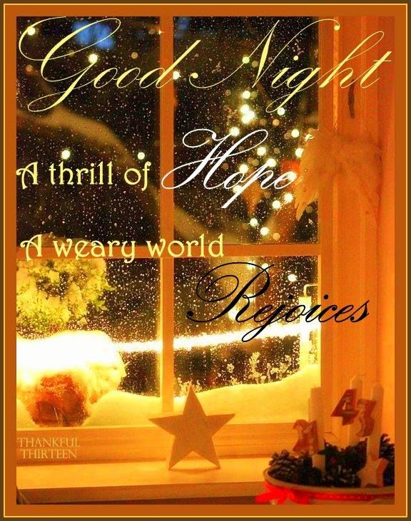Christmas Goodnight Quote Pictures Photos And Images For