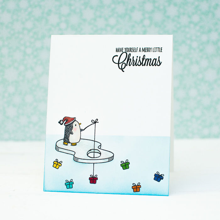 Christmas Card Using Penguin Image Pictures Photos And