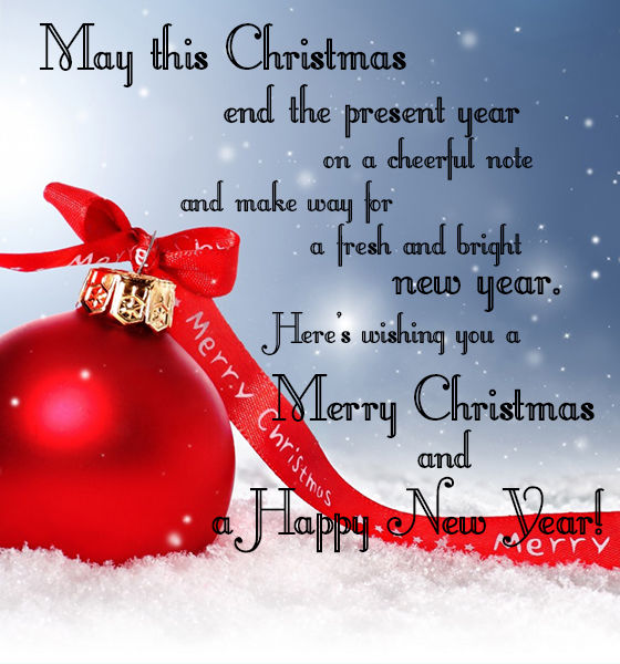 May This Christmas End The Present Year On A Cheerful Note Pictures Photos And Images For