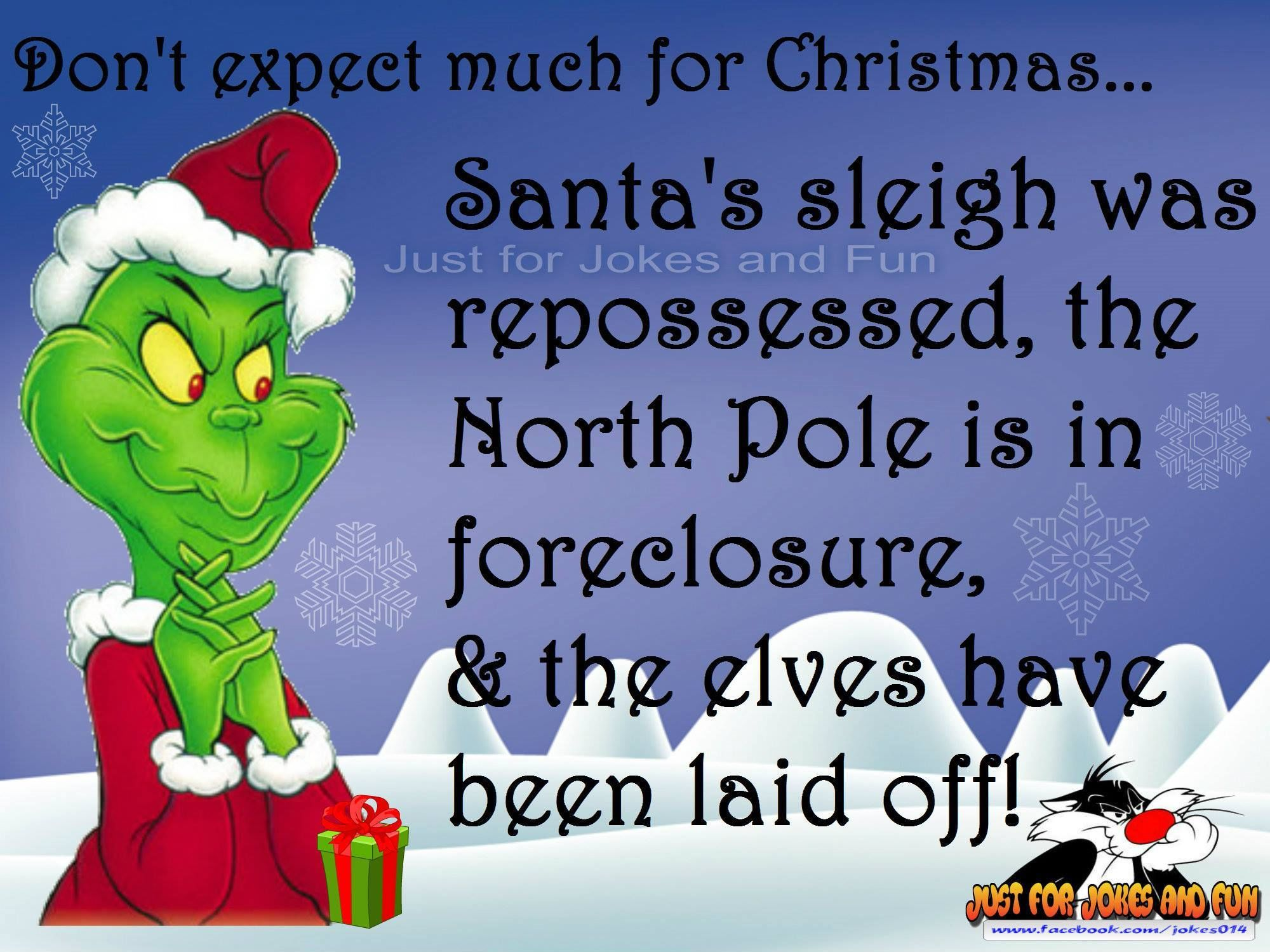 Funny Christmas Quote With The Grinch Pictures Photos