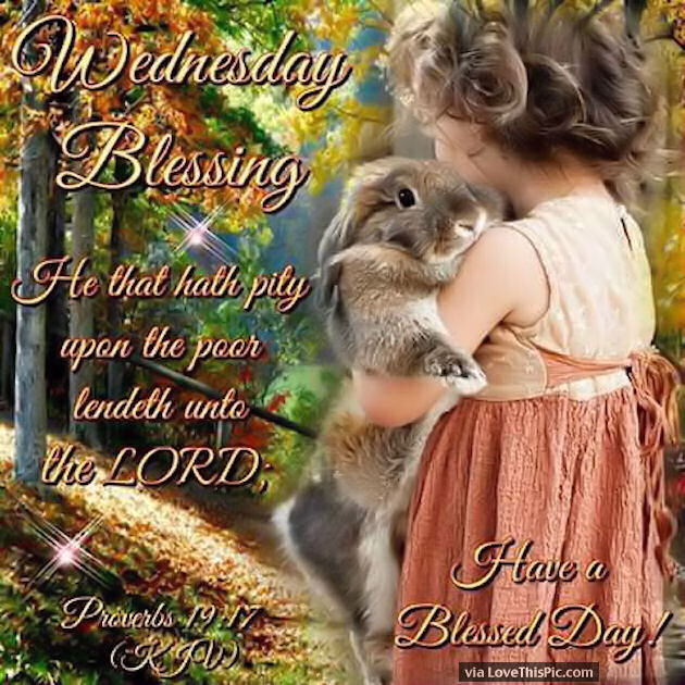 Wednesday Blessings With Bible Quotes Pictures Photos