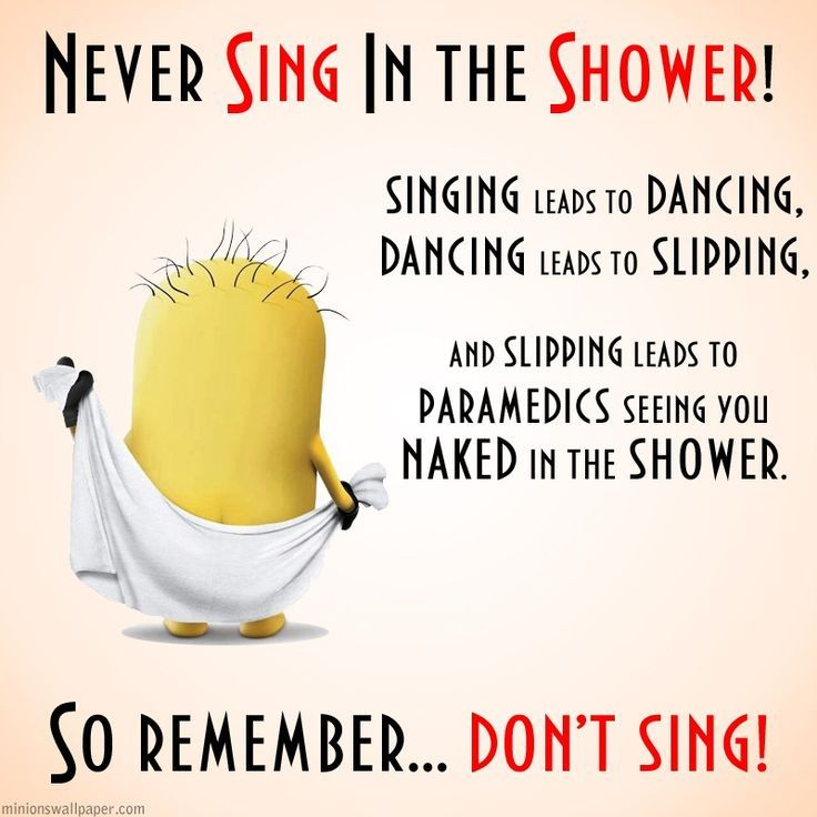 Never Sing In The Shower Pictures Photos And Images For