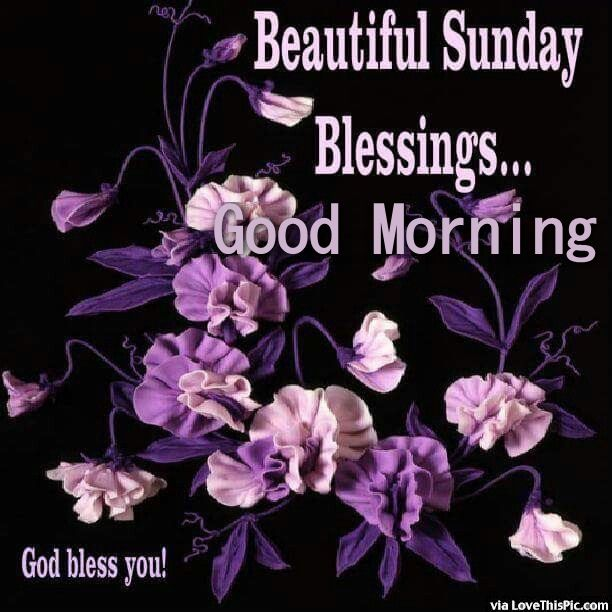 Beautiful Sunday Blessings Good Morning Pictures Photos