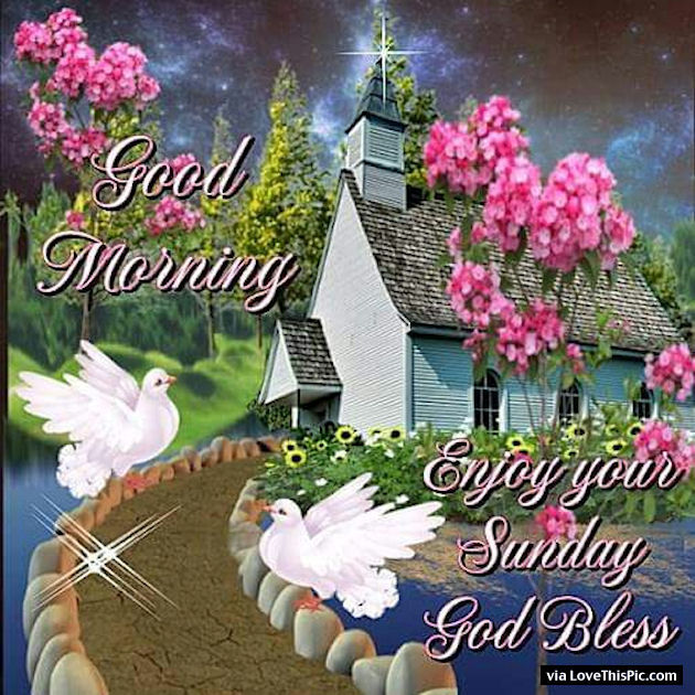 Morning Sunday Quotes Blessed Animated