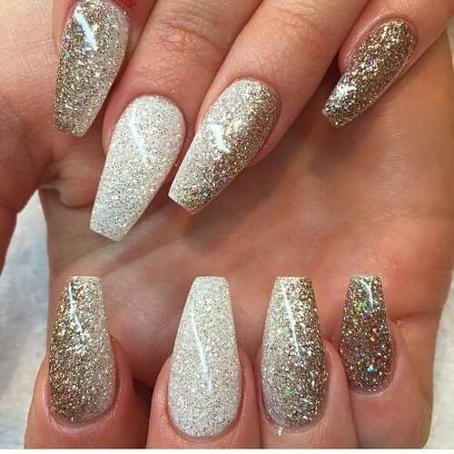 Glitter Nail Art Best Nails 2018 Golden Pictures Photos And Images For Face