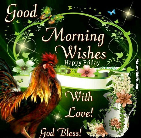 Good Morning Wishes Happy Friday Pictures Photos And