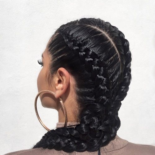 Black Double Dutch Braids Pictures Photos And Images For
