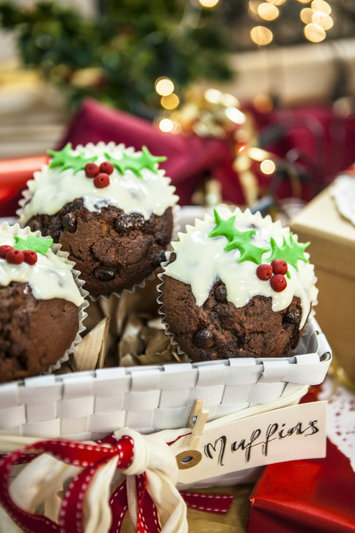 Christmas Muffins Pictures Photos And Images For