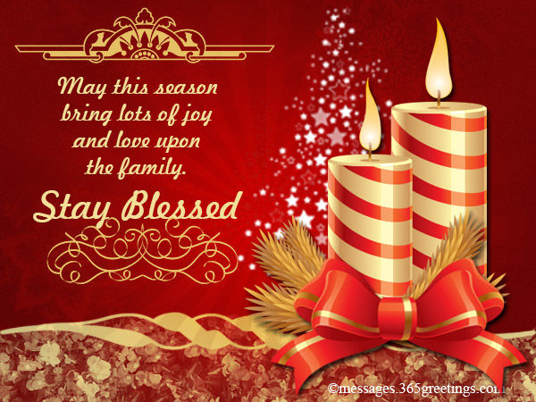 May This Season Bring Lots Of Joy And Love Upon The Family
