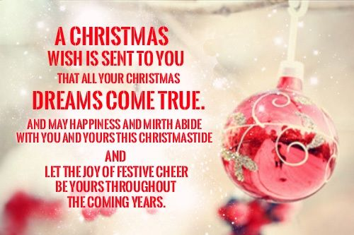 And And Merry New Quotes Wishing Year Your Family You Happy Christmas