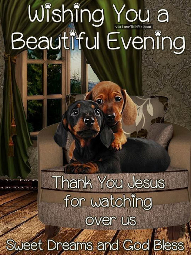 Wishing You A Beautiful Evening Thank You Jesus For Watching Over Us Pictures Photos And