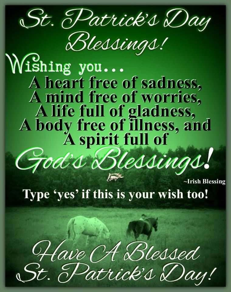 St Patricks Day Blessings Pictures Photos And Images
