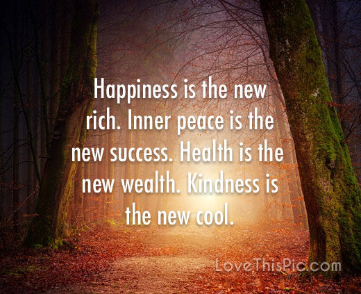 Happiness Is The New Rich Pictures Photos And Images For