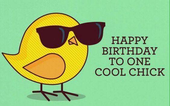 Happy Birthday Coolest Chick