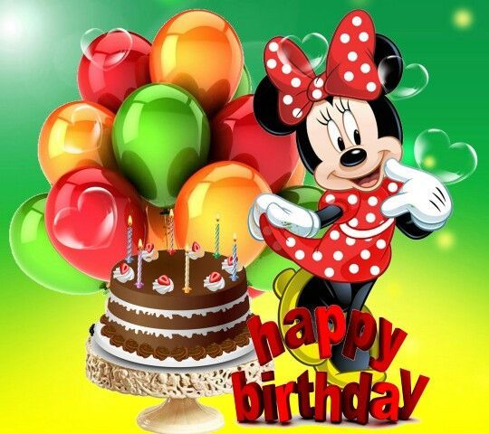 Minnie Happy Birthday Image Pictures Photos And Images