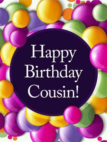 Happy Birthday Cousin Pictures, Photos, and Images for ... (368 x 490 Pixel)